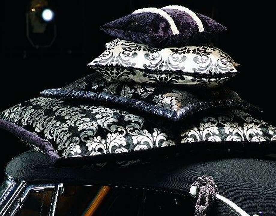 JAB Anstoetz isn't bashful about the style icons who inspired Grandezza, its luxurious line of jacquard fabrics and trims. Take your pick: Audrey Hepburn, Coco Chanel, Sophia Loren, Grace Kelly. Photo: JAB Anstoetz