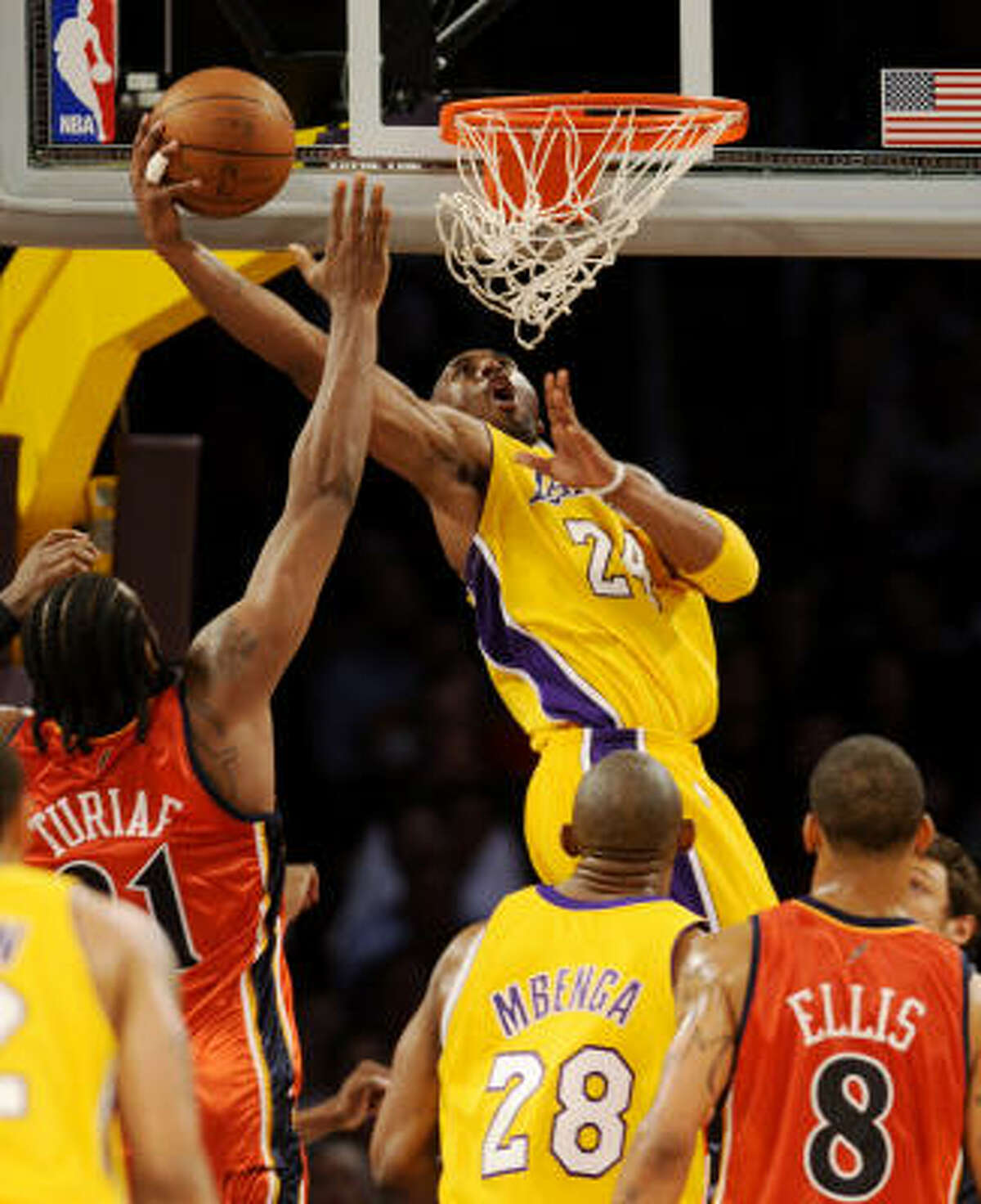 1 - LOS ANGELES LAKERS - (Last rank: 1) - 55-14 - The Lakers seem to be treading water, waiting for the playoffs to arrive to get serious again. But of all the playoff contenders, they have the most to add when Andrew Bynum returns to the lineup and are still the team to beat in the West.