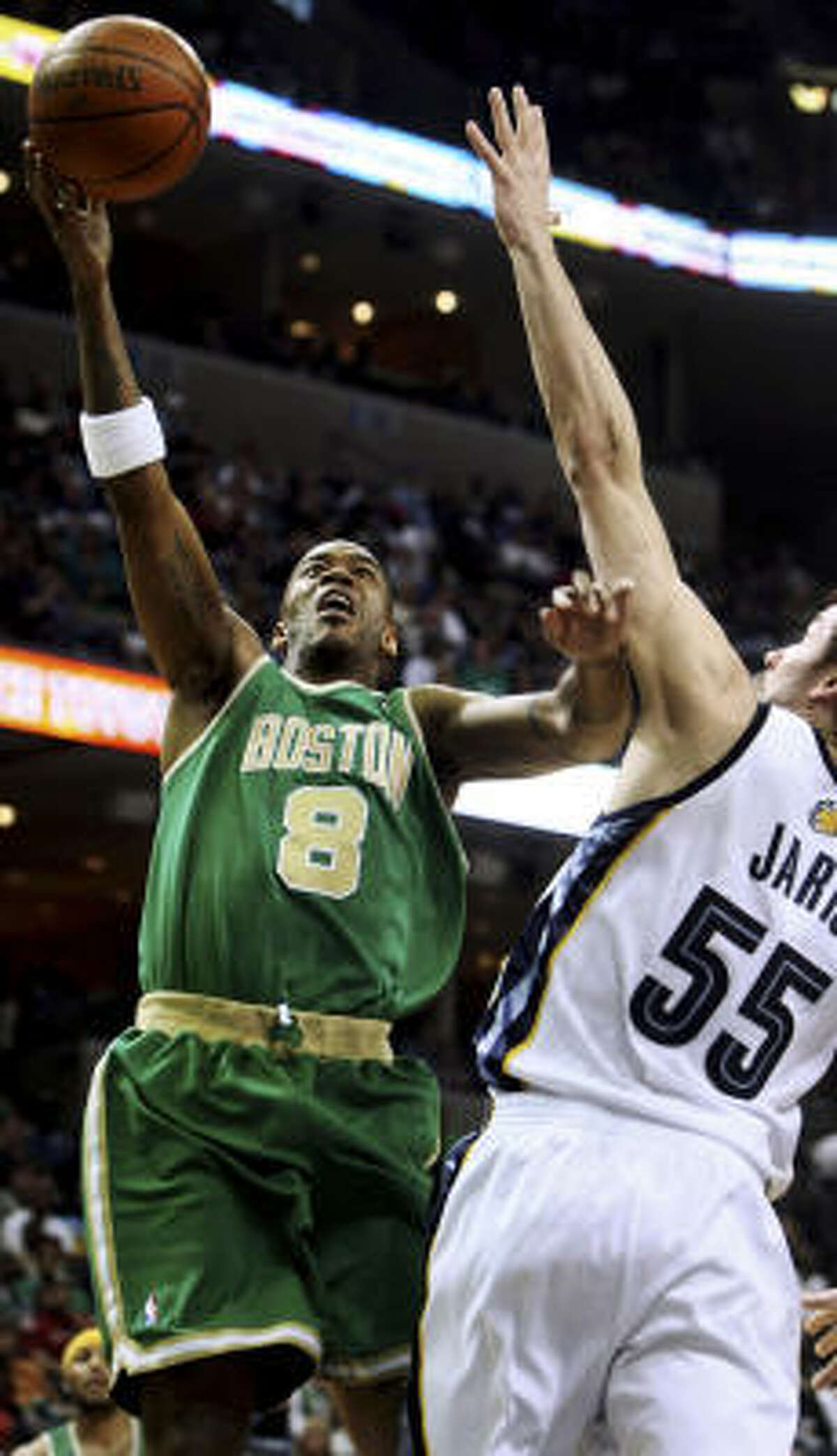 3 - BOSTON CELTICS - (Last rank: 4) - 53-18 - They finally got KG back in the lineup. But the Celtics seem to be missing that touch of swagger that made them a juggernaut a year ago. The win in San Antonio on Friday night may have served notice that they won't give up the crown easily.