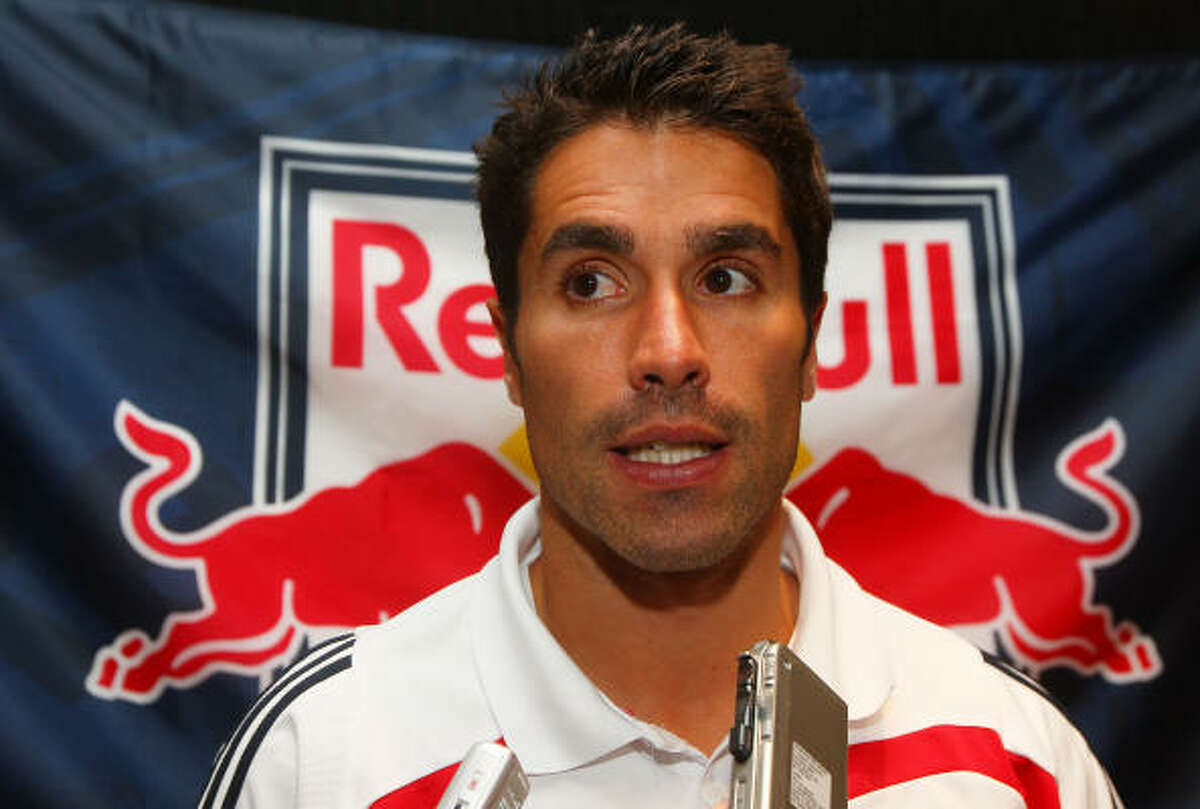 When: April 11, 7:30 p.m. Who: Juan Pablo Angel, New York Red Bulls The prolific Colombian striker scored 14 goals in the 2008 regular season and then added two more in the playoffs as New York ended the Dynamo's championship reign and became an unlikely contestant in the MLS Cup.
