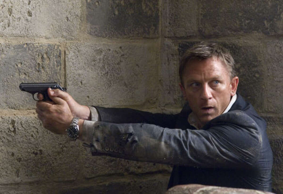 James Bond (Daniel Craig) takes on a villain (Mathieu Amalric) with designs on the world's water supply.