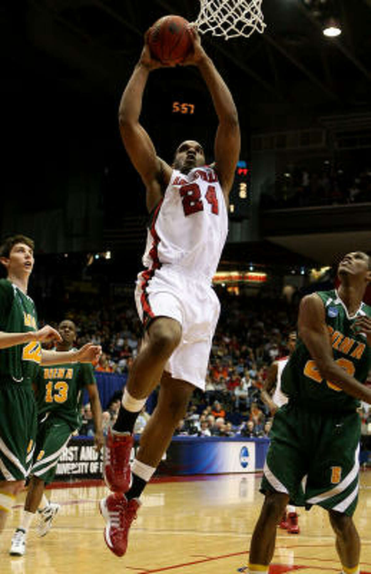 Samardo Samuels (Louisville) Samuels scored 13 points, pulled in eight rebounds and blocked five shots in a second round win over Siena in the Midwest Regional.