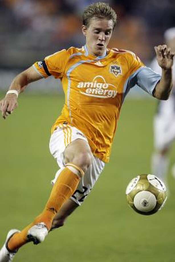 1. STUART HOLDENAll eyes will be on the 23-year-old Sugar Land product as he takes over Dwayne De Rosario's role as commander-in-chief and spark of the Dynamo offense. Pressure? You bet. But with Holden having a golden chance to establish himself as an MLS starter in the last year of his contract, expect great things from the crafty attacking midfielder. Photo: Bob Levey, AP