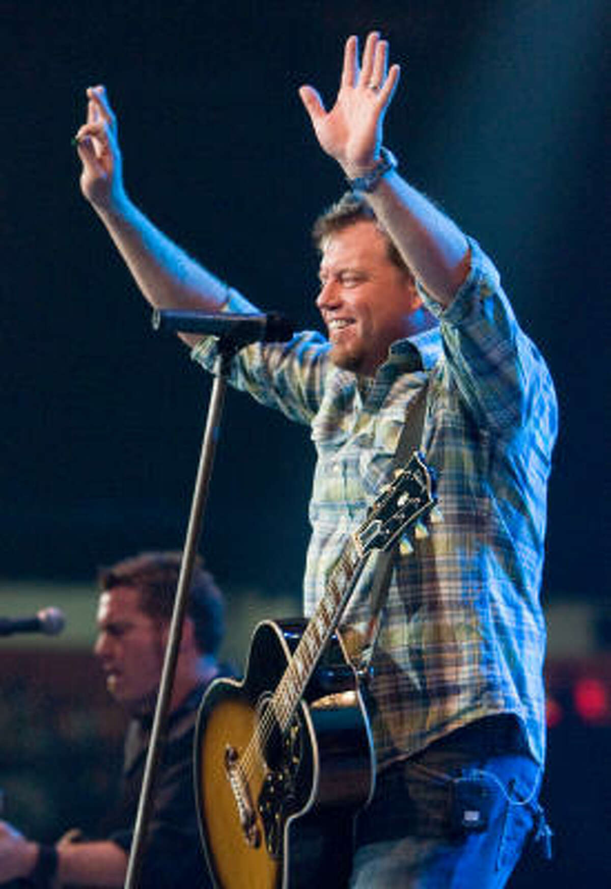 Pat Green performs at the Houston Livestock Show and Rodeo Thursday, March 19.