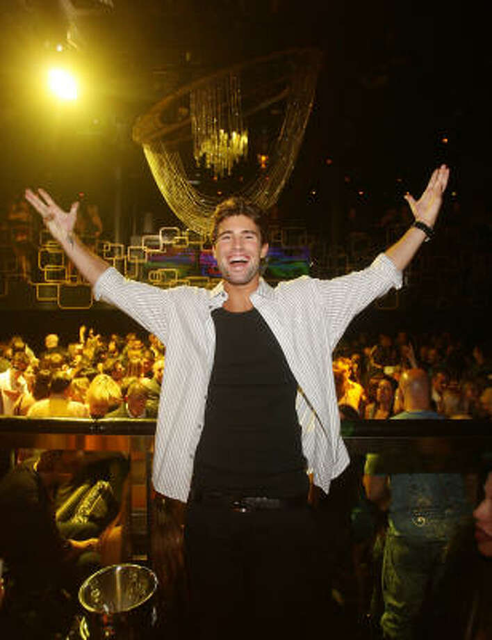 Brody Jenner stood by his man, Luke, in the final episode of his reality show Bromance. Photo: Isaac Brekken, WireImage