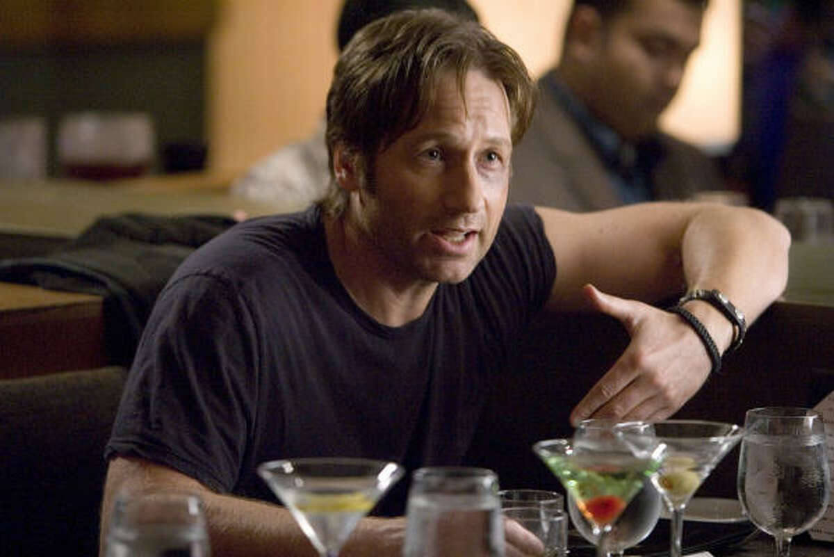 David Duchovny's character in Showtime's Californication is said to have a bromance with Hank, his agent.