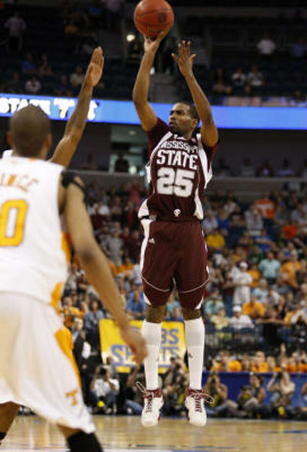 WEST REGIONAL:No. 13 Mississippi State over No. 4 Washington Comment:  There's something to be said for teams that get hot at the right time -- and the Bulldogs are on fire after winning six straight to claim the Southeastern Conference tournament. Photo: Mike Carlson, AP
