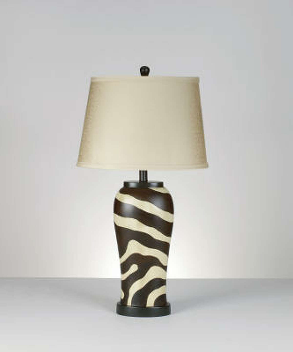 Jahzara table lamp, $127 for two, Ashley Furniture HomeStore.