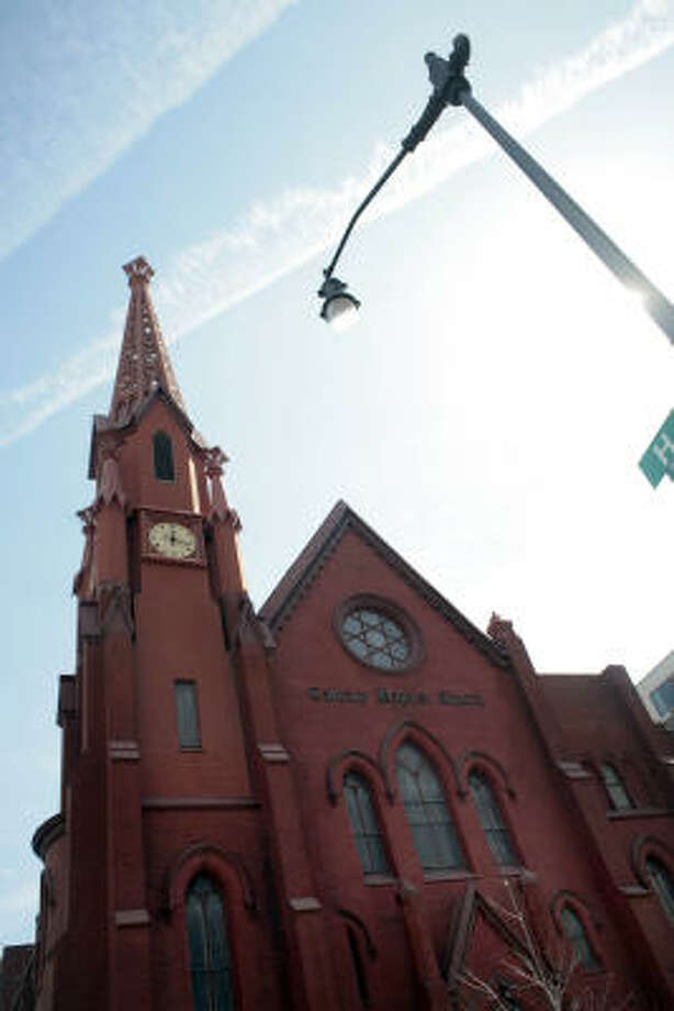 President Barack Obama and his family are considering joining several churches of various denominations in the nation's capital but have yet to settle on one. Calvary Baptist, a smaller church led by a pastor who grew up in Obama's birthplace, Hawaii, is said to be under consideration. Photo: ANDREW COUNCILL, MCT