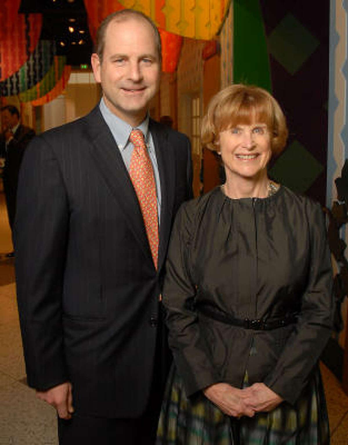 Nancy Allen and her son Randy