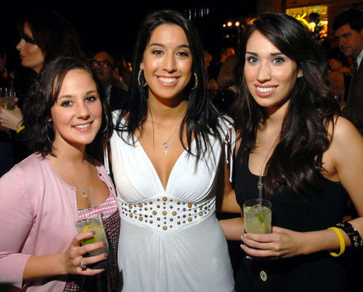 Christen Burditt, Megan Acosta and Naomi Cortez