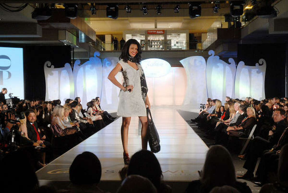 All eyes were on the runway for the Simon Fashion Now event at The Galleria.