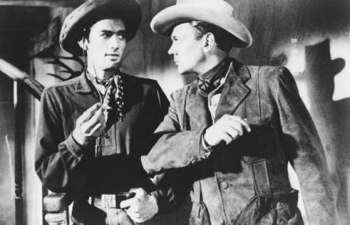 8. Gregory Peck: If you only think of Peck as the solid, decent type, catch him as a young hellion in the eccentric Duel in the Sun (1946), above, with Joseph Cotton, or an outlaw in Yellow Sky. He's excellent and tough in The Bravados, The Stalking Moon and the classic if rather static The Gunfighter.