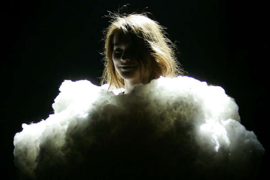 In the clouds at Maison Martin Margiela. Photo: FRANCOIS MORI, AP