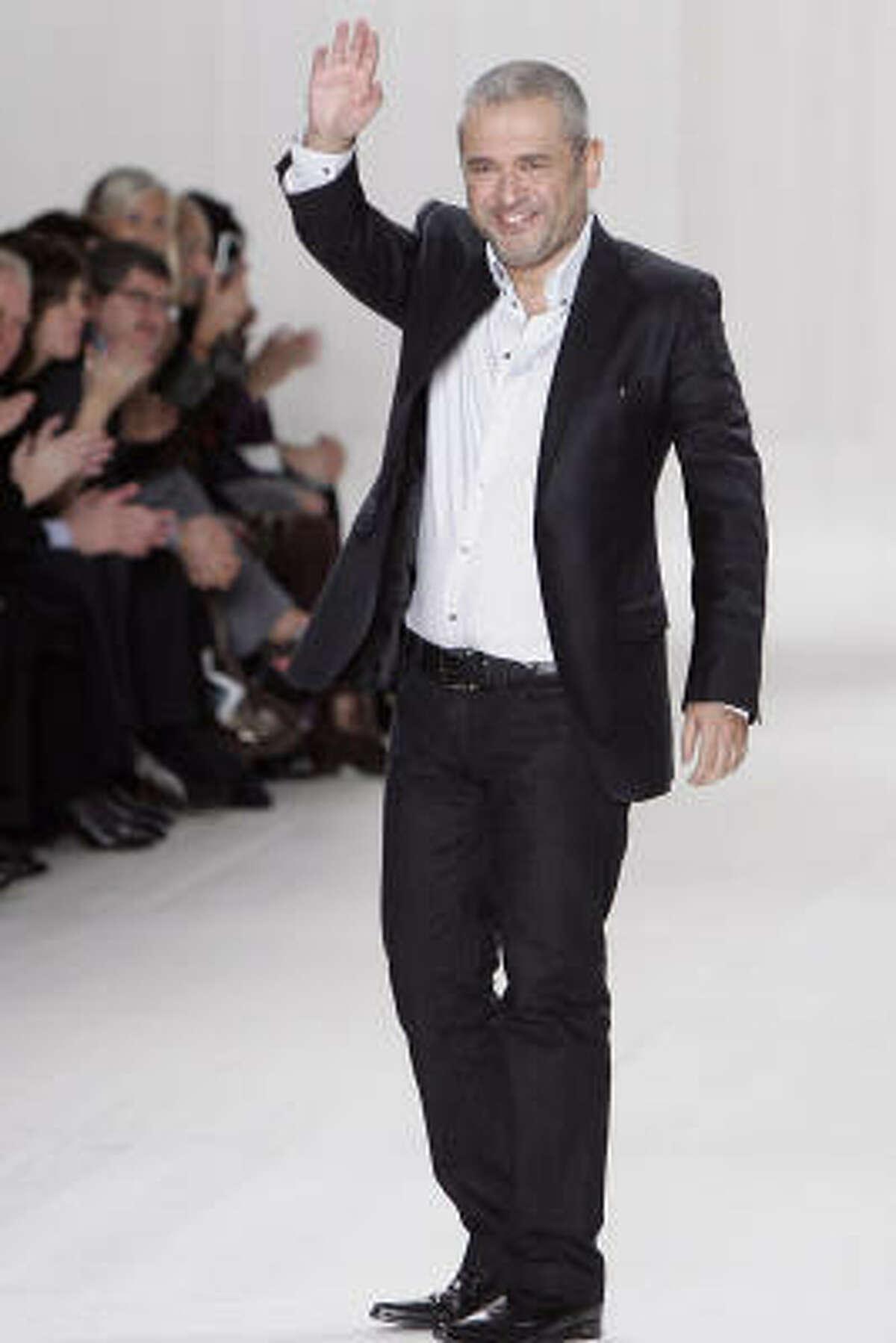 Designer Elie Saab