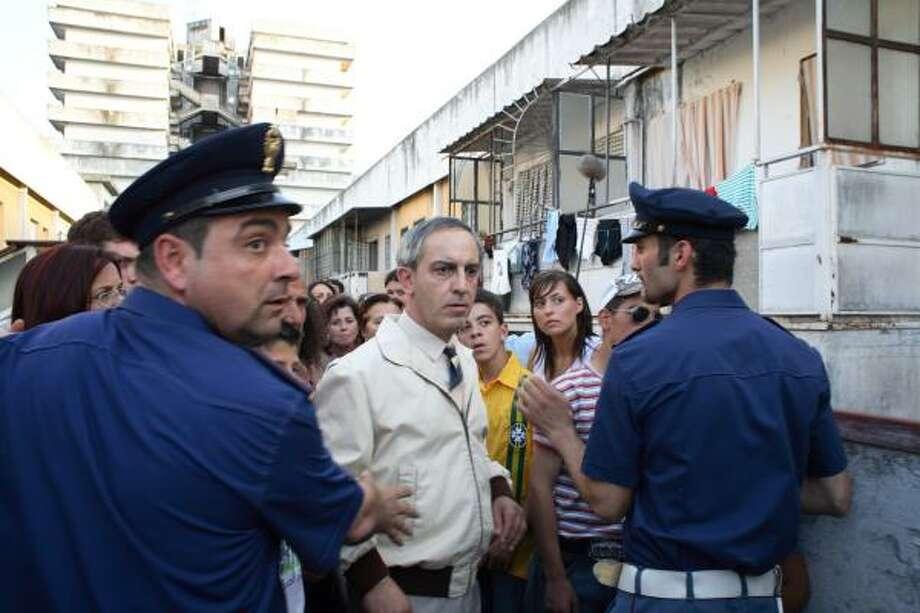 Gianfelice Imparato portrays Don Ciro in Gomorrah. Photo: Mario Spada, AP