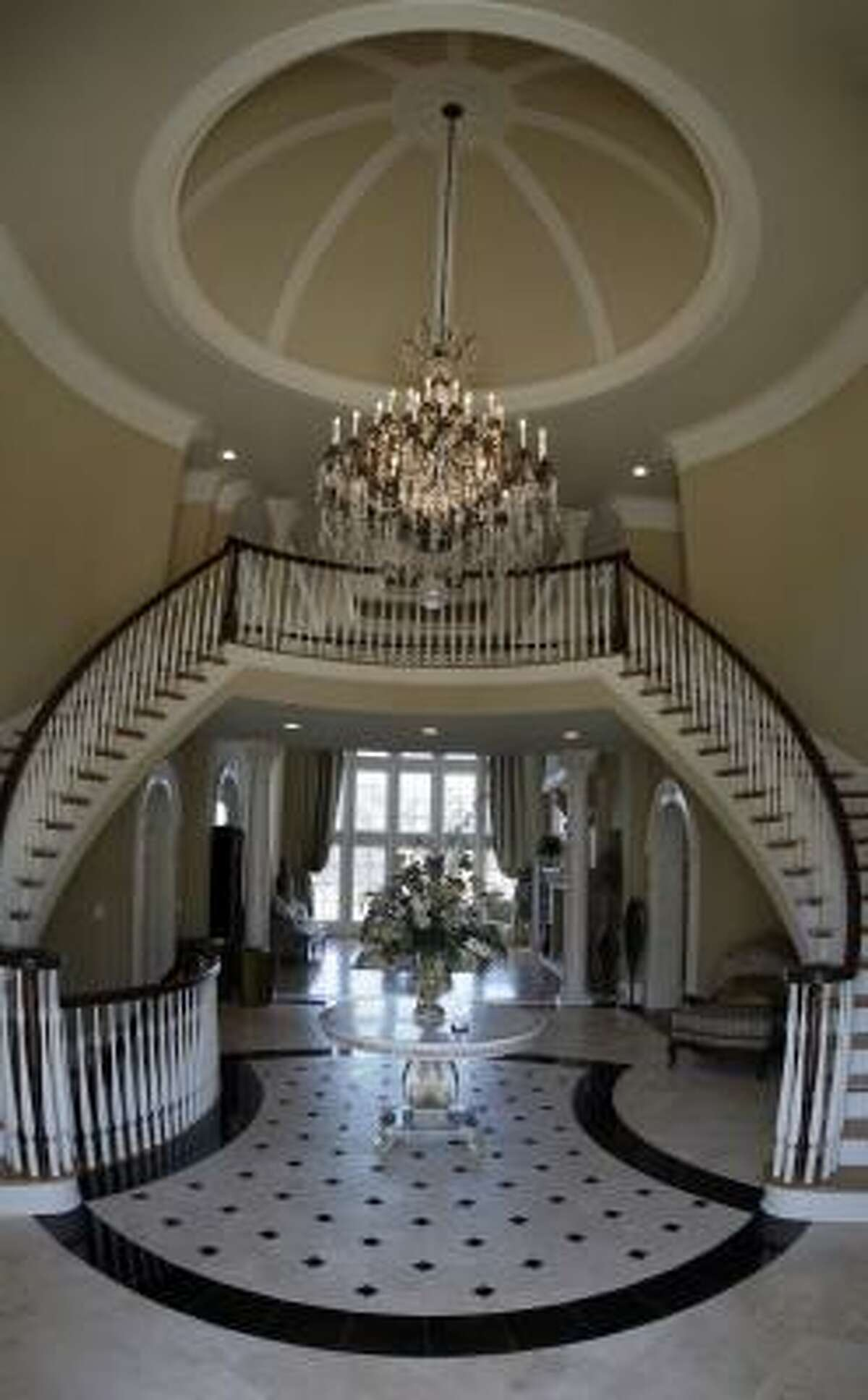 The entrance to the home.