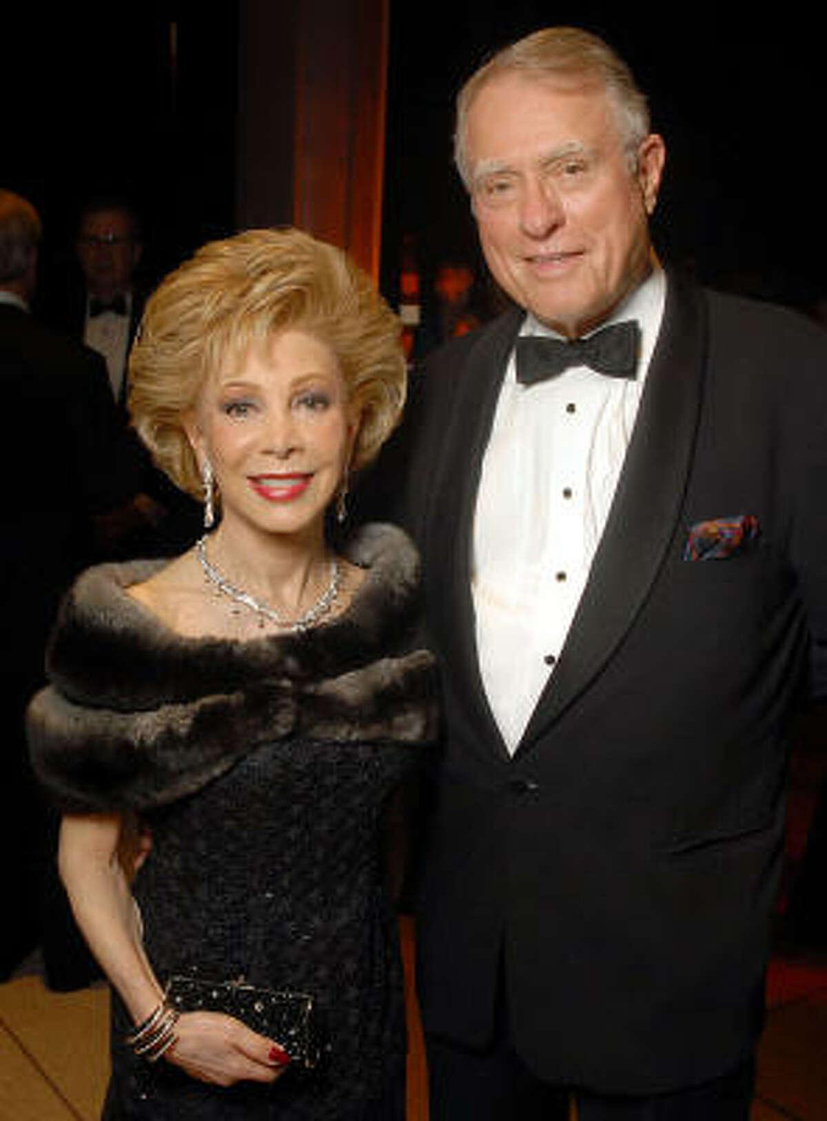 Margaret Williams and Jim Daniels