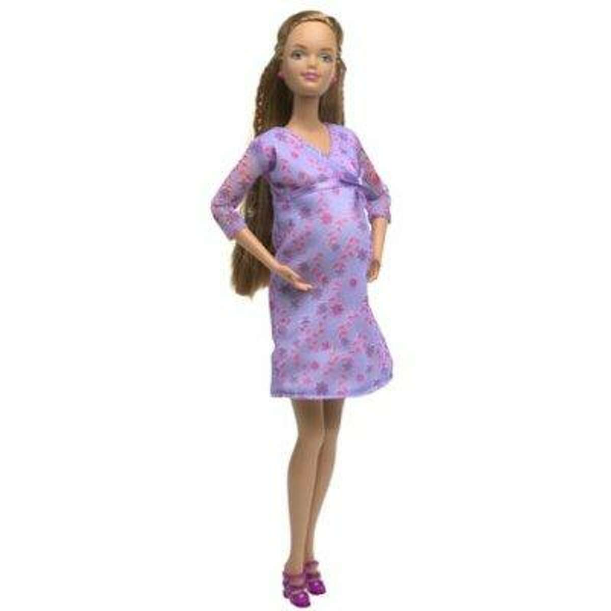 Some parents found Barbie's friend Midge's pregnancy to be controversial. The doll was later altered to include a wedding ring. More disturbing than Midge's marital status is how the doll get pregnant considering Ken dolls have no genitalia.