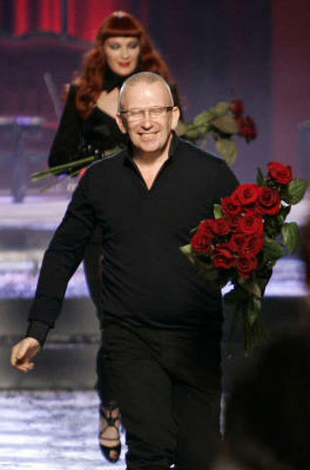 French fashion designer Jean Paul Gaultier Photo: FRANCOIS MORI, AP
