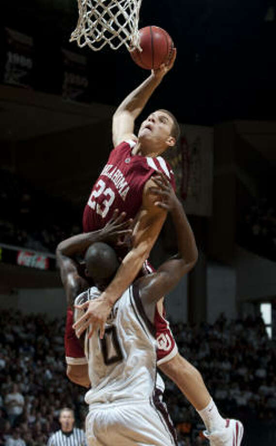 Blake Griffin, F, Oklahoma (2008-09) Photo: Wade Barker, AP