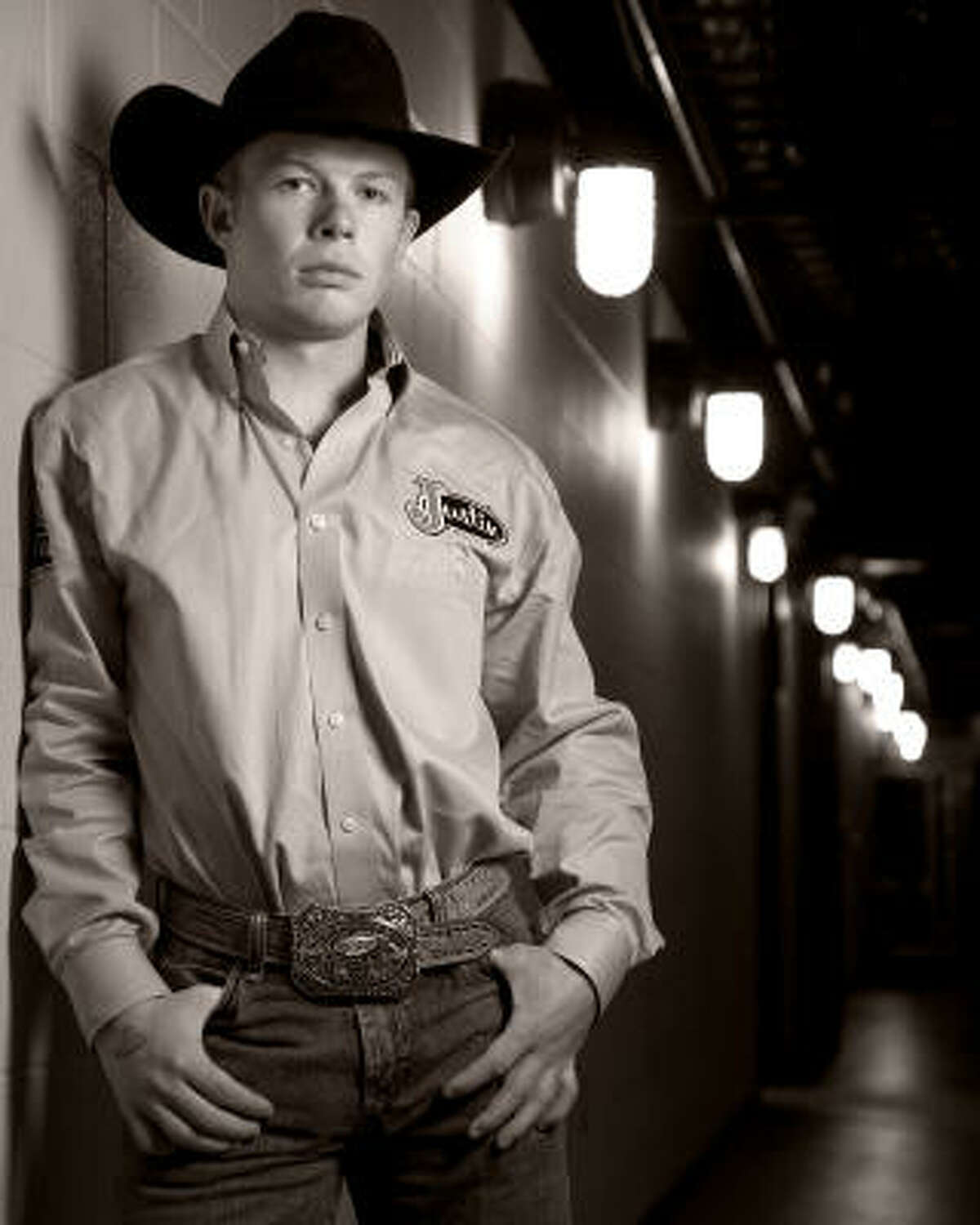 Steve Woolsey, a bull rider from Payson