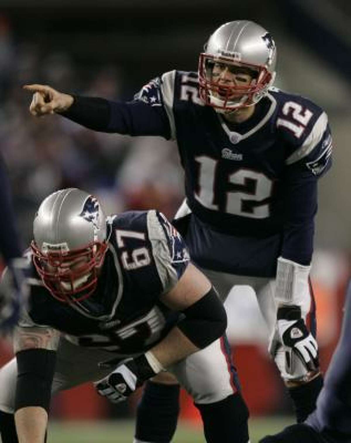 The Top 10 as voted on by readers: 1. TOM BRADY, Patriots First-place votes: 261