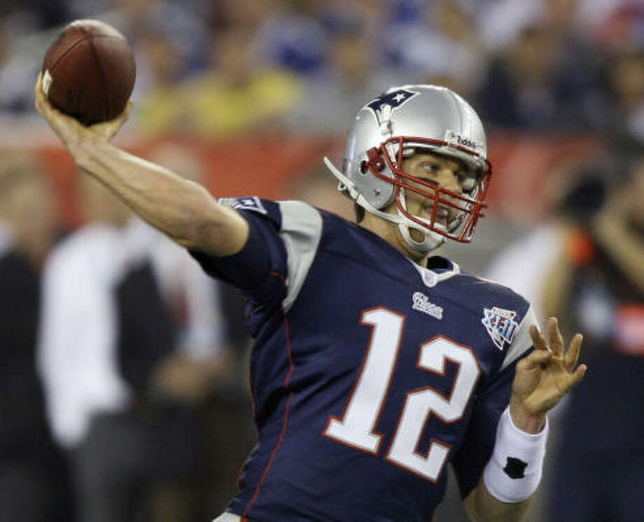 1. TOM BRADY — PatriotsSOLOMON  SAYS:Knee, schmee. Until I am told that Brady won't be back to normal, I'm going with the best in the game. Period. Ninety percent of Brady is better than more than 90 percent of the QBs out there. Photo: David J. Phillip, AP