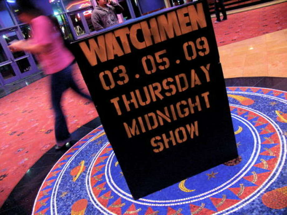 If it's midnight, it must be time for Watchmen. Photo: Jordan Graber, For The Chronicle