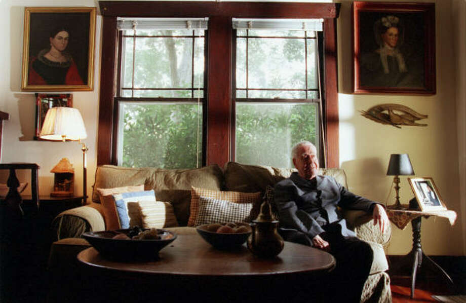 "Famous Texas playwright Horton Foote spent half of his time at his childhood home in Wharton. He said at the age of ten, he had a ""calling"" to become an actor. Photo: Houston Chronicle"