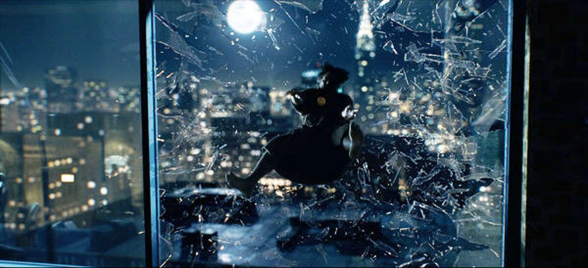 Jeffrey Dean Morgan as The Comedian in Watchmen.
