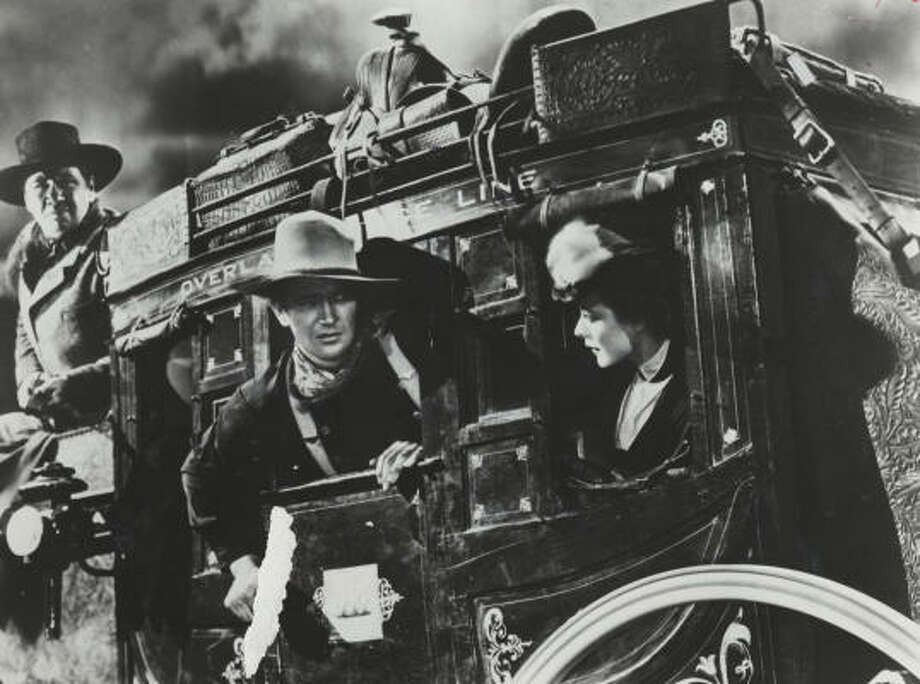 Stagecoach (1939):The John Ford film that made John Wayne (after about 80 movies) a star and helped make westerns a serious adult genre. It's Airport in the old west with a strong ensemble cast, good action, a romance and great scenery. Photo: File Photo
