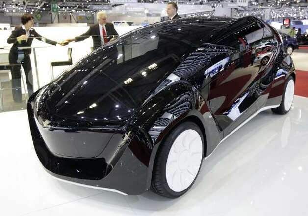 "The new EDAG ""Light Car"" is shown during the press day at the 79th Geneva International Motor Show, Tuesday, March 3, 2009, in Geneva, Switzerland. The Motor Show will open its gates to public from March 5 to 15, presenting over 1000 brands with more than 85 world and european firsts in the sector saloon alone. Photo: MARTIAL TREZZINI, AP"