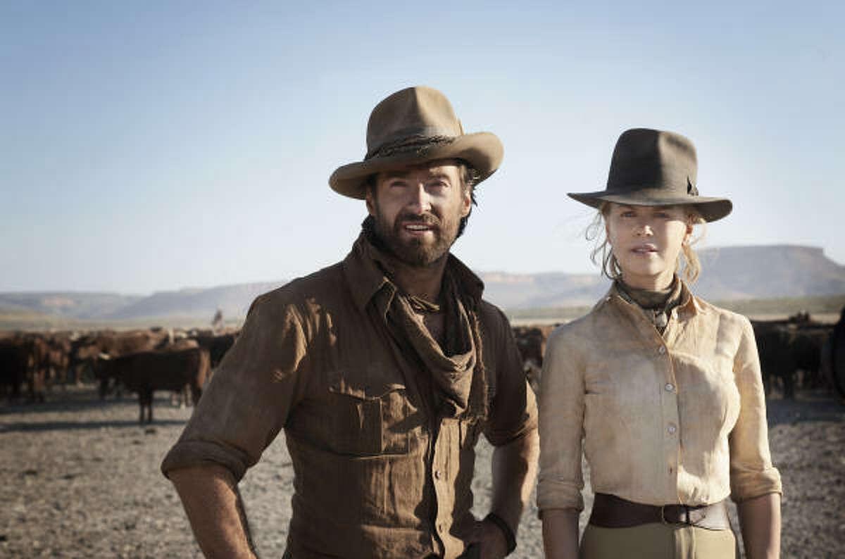Hugh Jackman and Nicole Kidman star in Australia.