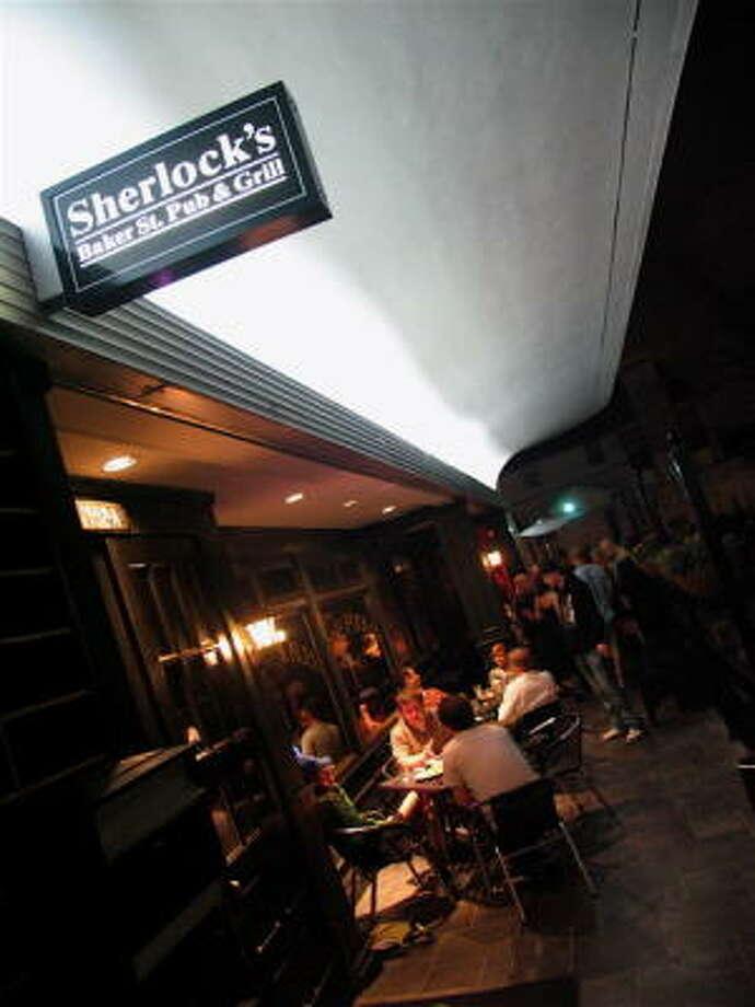 Sherlock's Pub River Oaks, 1997 W. Gray, has cheap martini night every Thursday. Photo: Jordan Graber, For The Chronicle
