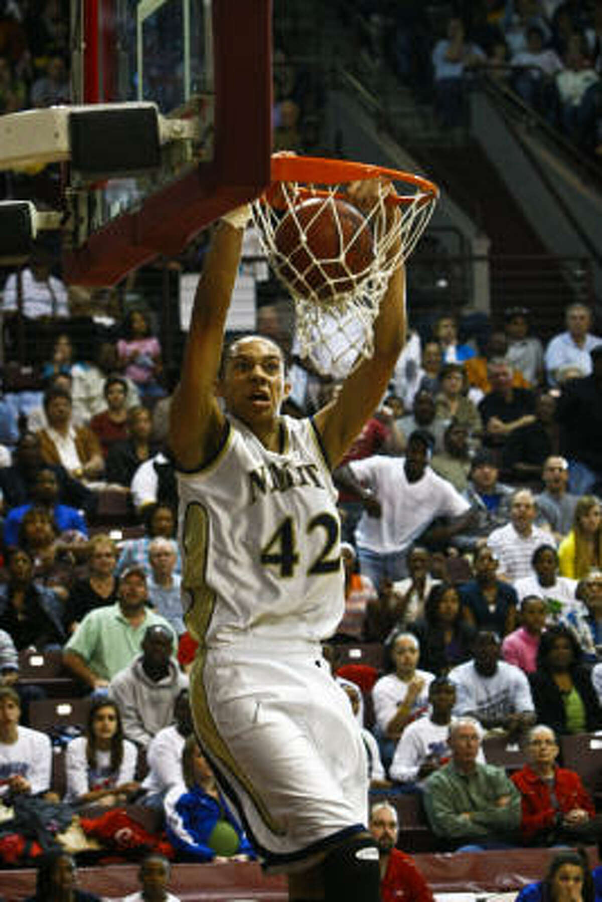 BRITTNEY GRINER, NIMITZ When: Feb. 27. Opponent: Dulles.