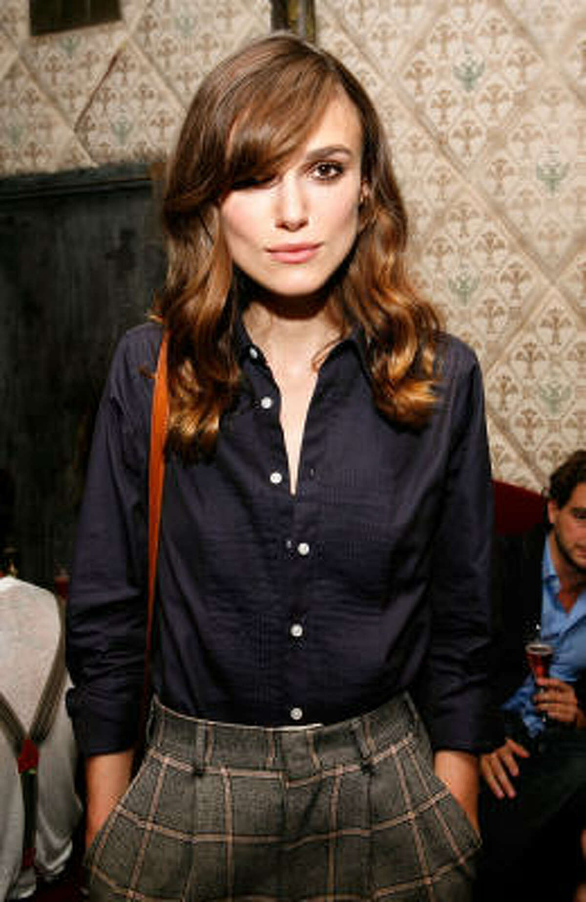 In this photo from a few months ago, Keira Knightley looks gaunt. Find healthy weight-loss tips and support at Losing It. Click here to join.
