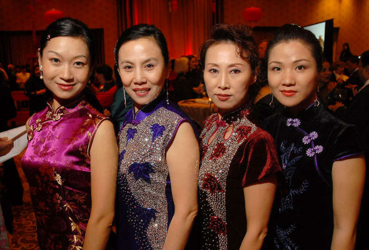 Yan Kung, Limei Han, Ging Chen and Lisa Chen