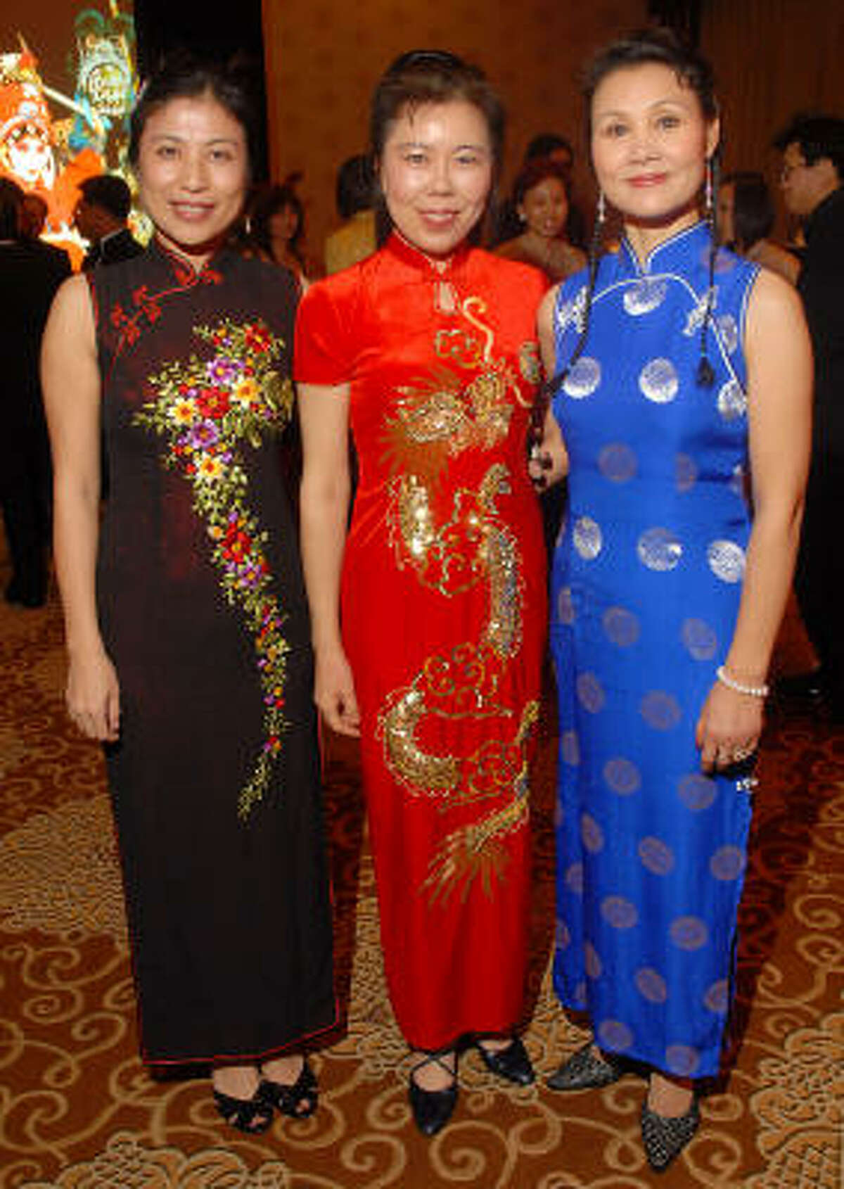 From left: Grace Fu, Rosay Ha and Chery Pan