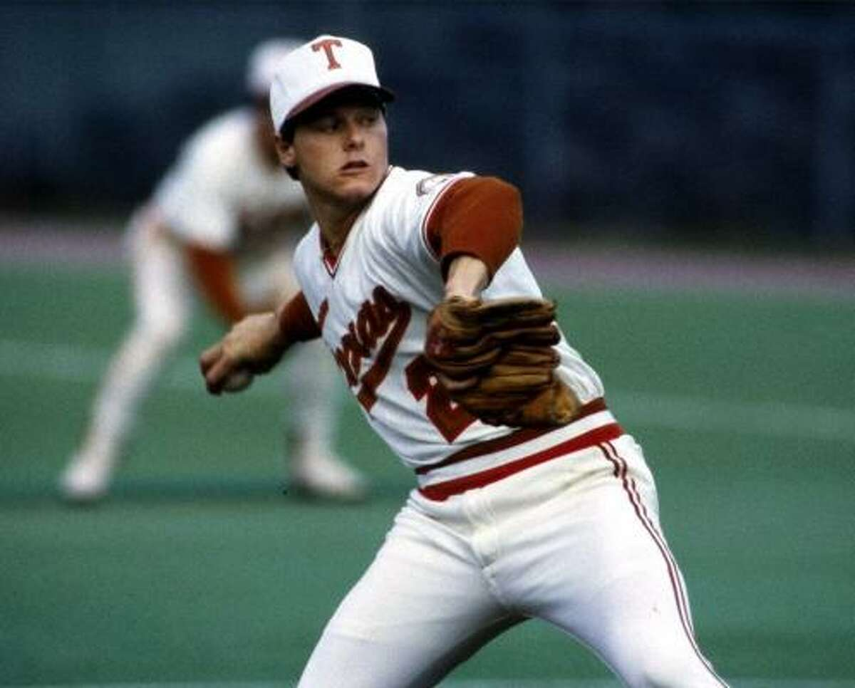 Roger Clemens, No. 21, baseball (1982-83): A two-time All-American, Clemens was 25-7 and was on the mound when the Longhorns won the 1983 College World Series.