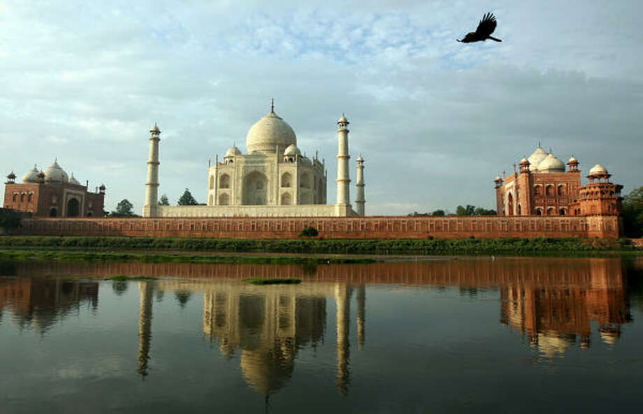 Mughal emperor Shah Jahan built the Taj Mahal in the 17th-century as a mausoleum for his wife. It's now the top tourist attraction in India. Photo: TAUSEEF MUSTAFA, AFP/Getty Images
