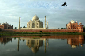 Mughal emperor Shah Jahan built the Taj Mahal in the 17th-century as a mausoleum for his wife. It's now the top tourist attraction in India.