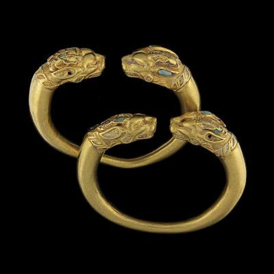 Сокровища великих цивилизаций :золото бактрии.