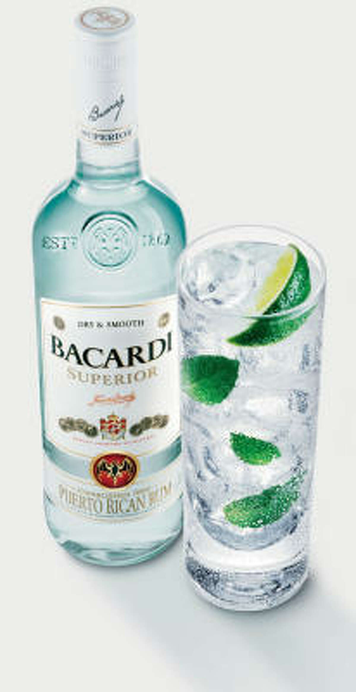 The bat on the Bacardi label represents health, family unity and good fortune.