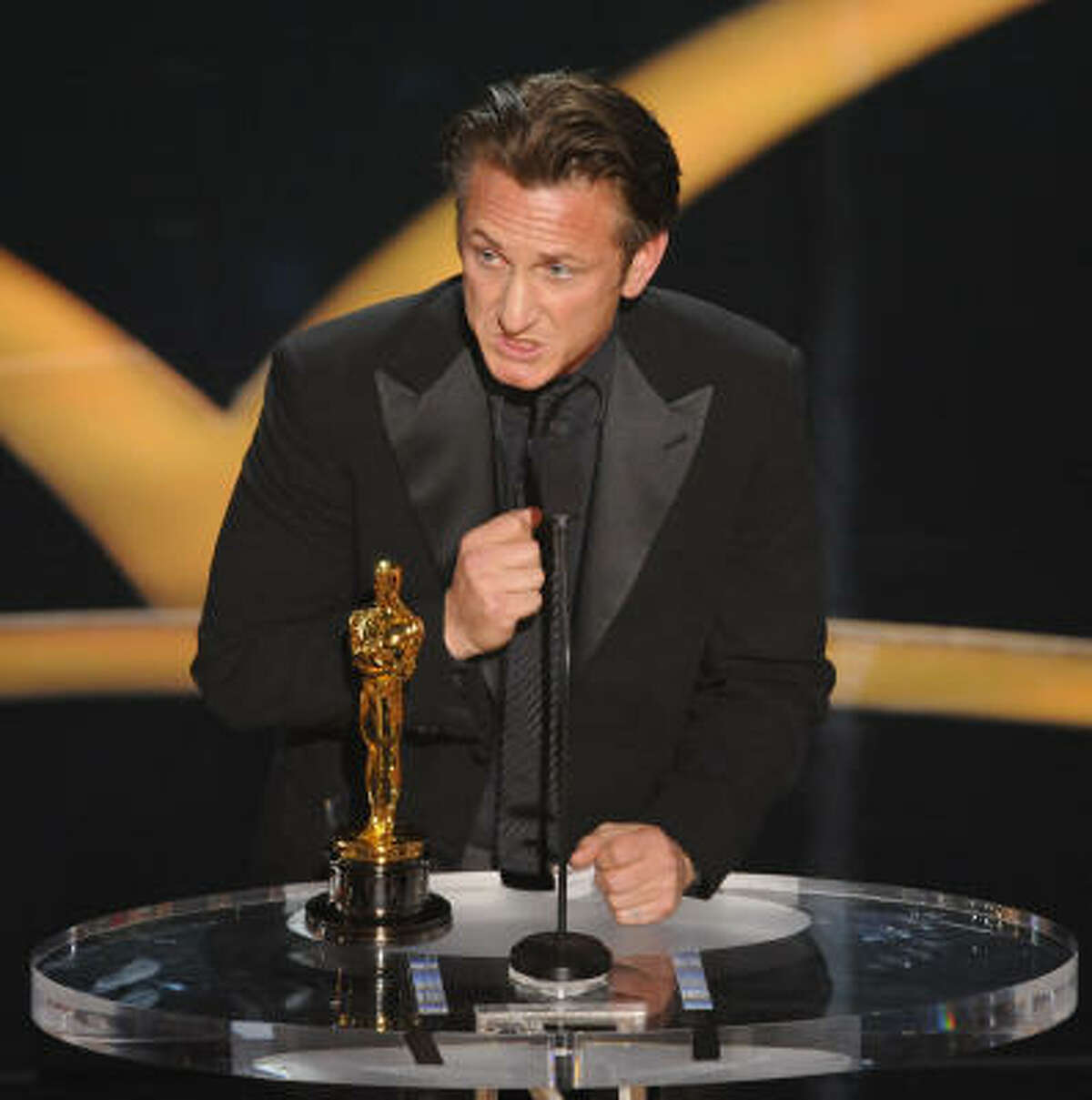 Best actor: Sean Penn for Milk