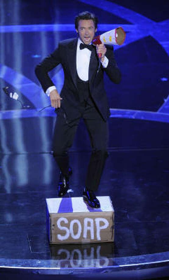 Oscar host Hugh Jackman opens the 81st Academy Awards. Photo: Mark J. Terrill, AP