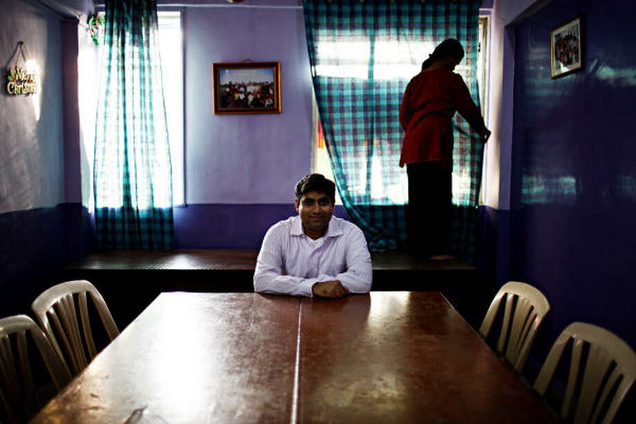 Deval Sanghavi, the Executive Director of Dasra, an NGO whose projects include the Sharanam Home for Girls in Dharavi, one of the world's largest slums in Mumbai, India. Photo: Michael Rubenstein
