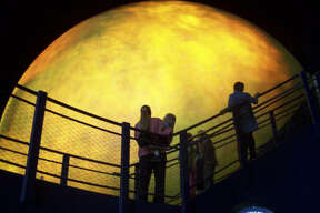 At the Sci-Port Discovery Center, visitors cann look at the outer Sun Shell of the Sci-Port Discovery Centers Space Dome Planetarium in Shreveport, La.