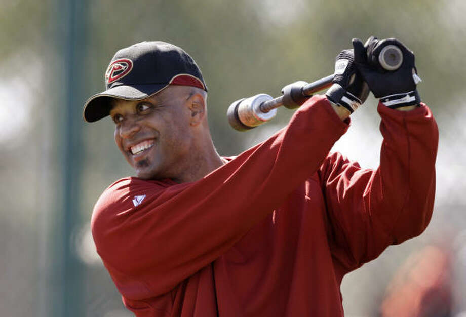 Arizona Diamondbacks' Tony Clark. Photo: Elaine Thompson, AP