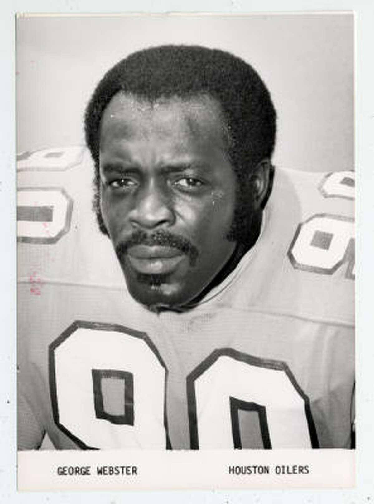 George Webster, OLB, 1967